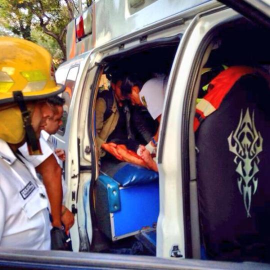 Herido con bala de goma en Colón #2deoctubre